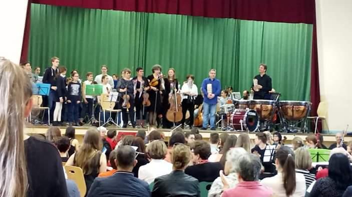 Orchestres inter-écoles - Concert du 31 mars 2019 à Buxy