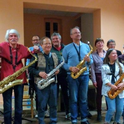 Concert de l'atelier jazz à Chenôves  le 2 avril 2019